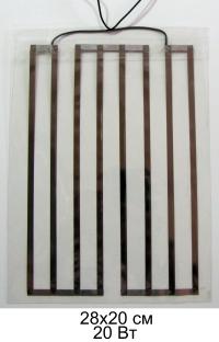 Универсальный пленочный нагреватель 12 вольт