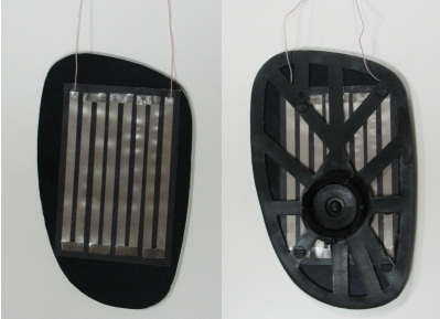 Обогрев зеркал универсальный (для легковых авто)120x80мм