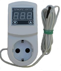Терморегулятор цифровой МТР-2 с заземлением (16А)