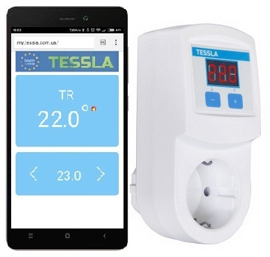 Терморегулятор TESSLA TR Wi-Fi