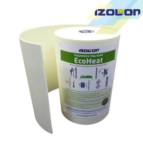 Подложка под обои Ecoheat 5, звукоизоляция стен